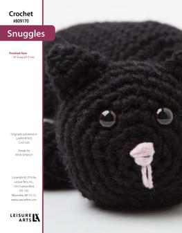 ePattern Crochet Snuggles the Cat