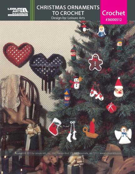 eBook Christmas Ornaments to Crochet