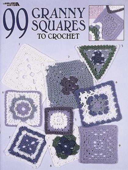 eBook 99 Granny Squares to Crochet