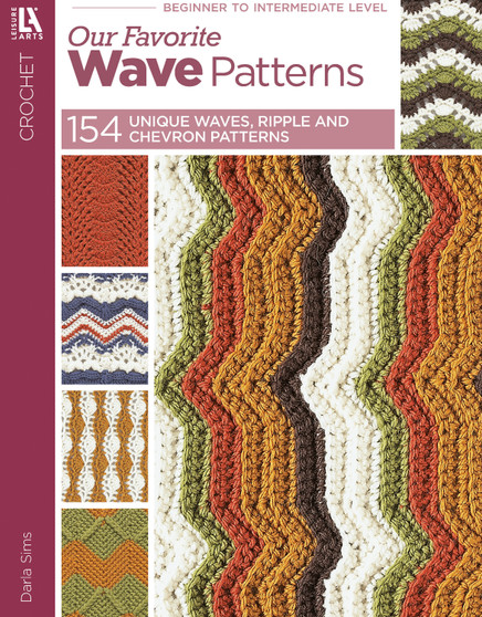 eBook 154 Crochet Wave Patterns