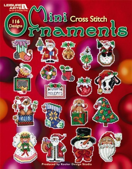 eBook Mini Cross Stitch Ornaments