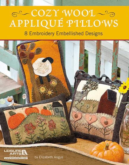 eBook Cozy Wool Applique Pillows