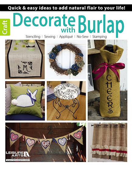 eBook Decorate with Burlap