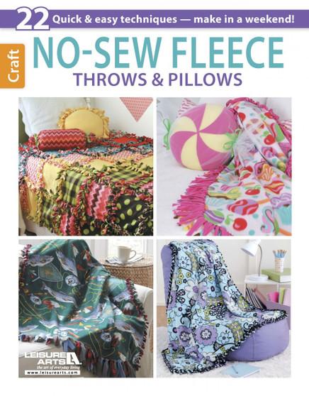 eBook No-Sew Fleece Throws & Pillows