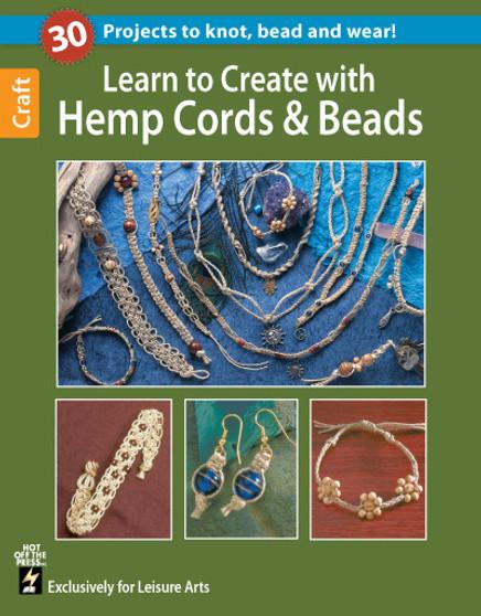 eBook Learn to Create with Hemp, Cord, & Beads