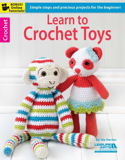 eBook Learn to Crochet Toys