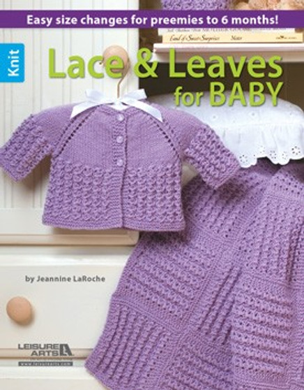 eBook Knit Lace & Leaves for Baby