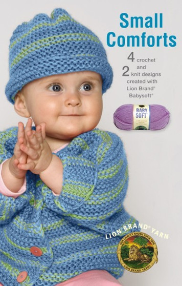 eBook Small Comforts featuring Lion Brand Baby