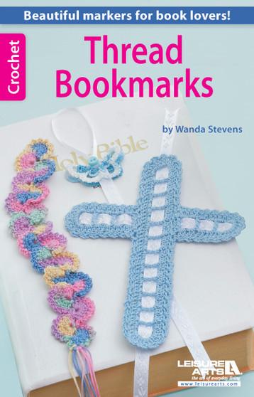 eBook Crochet Thread Bookmarks