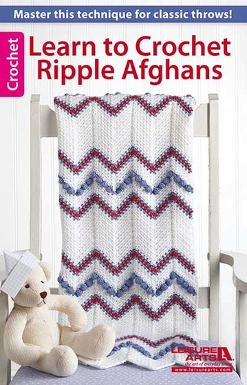 eBook Learn to Crochet Ripple Afghans