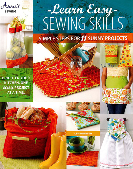 Annie's Learn Easy Sewing Skills Book