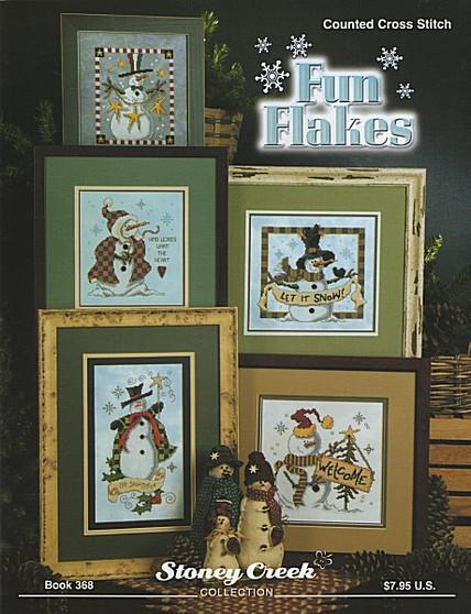 Stoney Creek Fun Flakes Cross Stitch Book