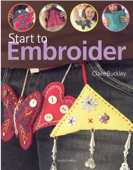 Search Press Start To Embroider Book