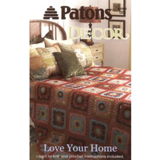 Patons Decor Love Your Home Knit & Crochet Book