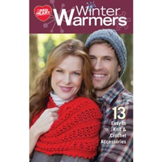 Coats & Clark Winter Warmers Knit & Crochet Book