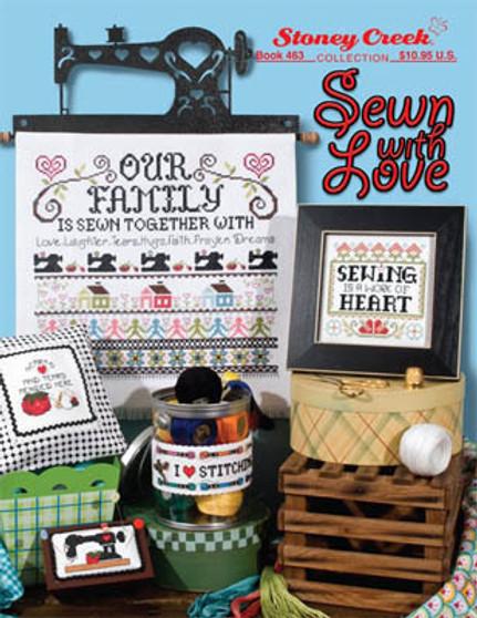 Stoney Creek Sewn With Love Cross Stitch Book