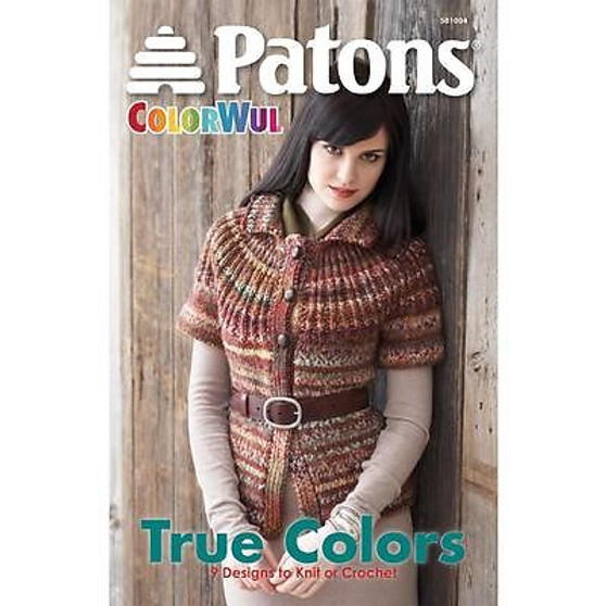 Patons Colorwul True Colors Knit Book
