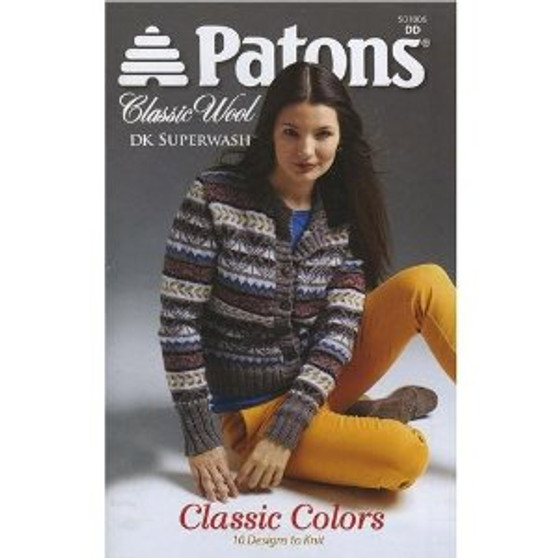 Patons Classic Colors Knit Book