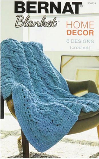 Bernat Blanket Home Decor Crochet Book