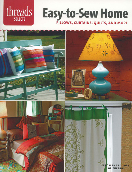 Taunton Press Threads Selects Easy-To-Sew Home Book