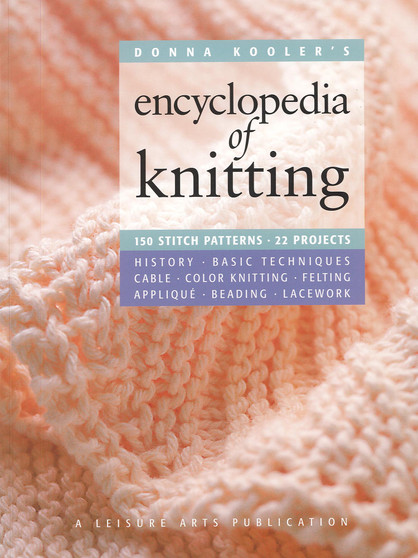 Leisure Arts Donna Kooler's Encyclopedia Of Knitting Book