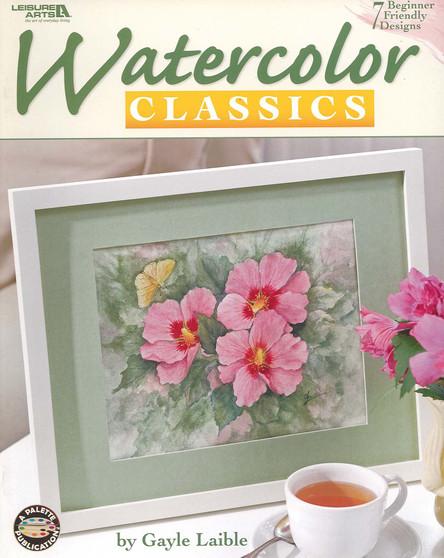 Leisure Arts Watercolor Classics Book