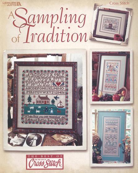 Leisure Arts Sampling of Tradition Cross Stitch Book