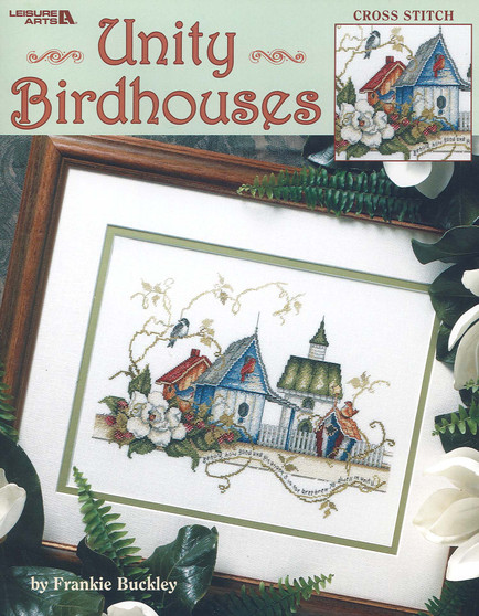 Leisure Arts Unity Birdhouses Book