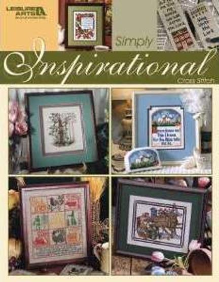 Leisure Arts Simply Inspirational Cross Stitch Book