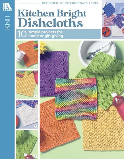 Leisure Arts Kitchen Bright Dishcloths Book