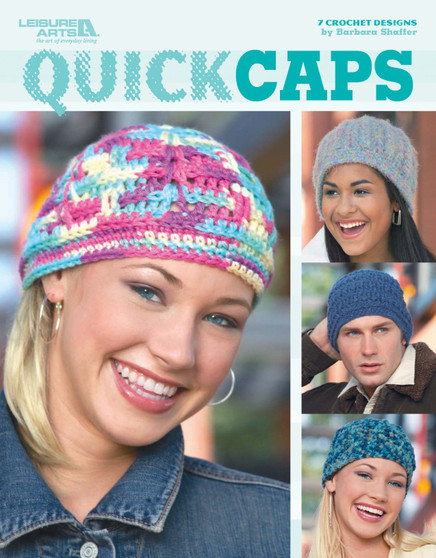 Leisure Arts Crochet Quick Caps Book