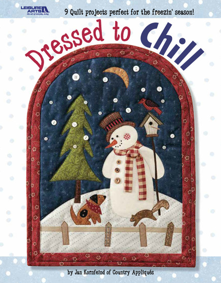 Leisure Arts Dressed to Chill Book