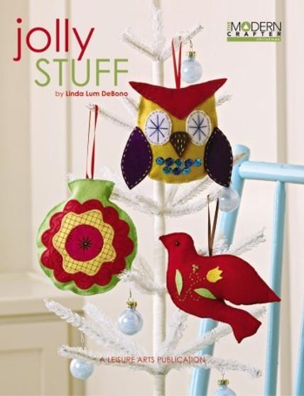 Leisure Arts Modern Crafter Jolly Stuff Book