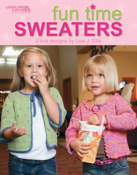 Leisure Arts Fun Time Sweaters Knit Book