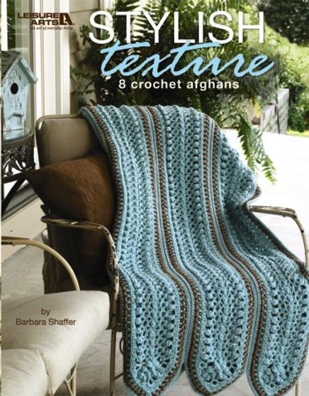 Leisure Arts Stylish Texture Crochet Book