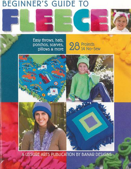 Leisure Arts Beginner's Guide To Fleece Book