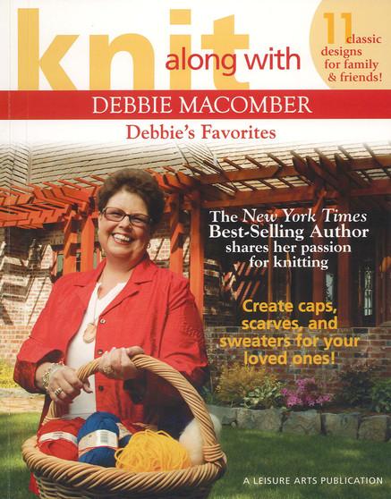 Leisure Arts Knit Along With Debbie Macomber Debbie's Favorites Book