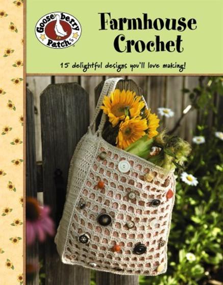 Gooseberry Patch Farmhouse Crochet Book