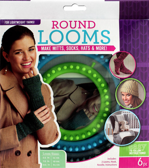 Leisure Arts Loom Circular Set Fine With Hook