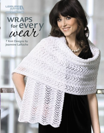 Leisure Arts Knit Wraps For Every Wear Book