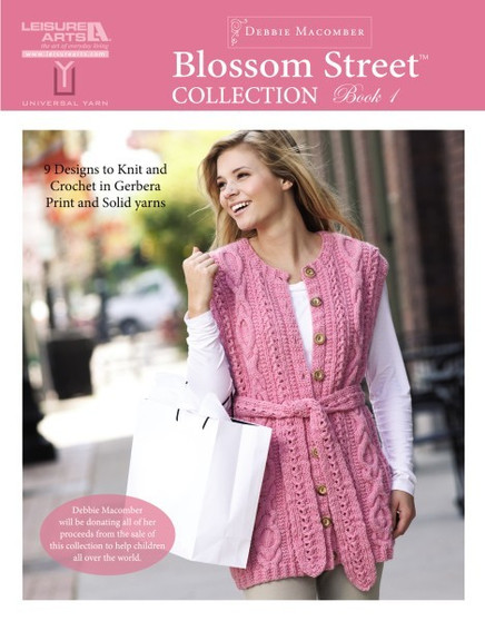 Leisure Arts Blossom Street Collection 1 Knit Book