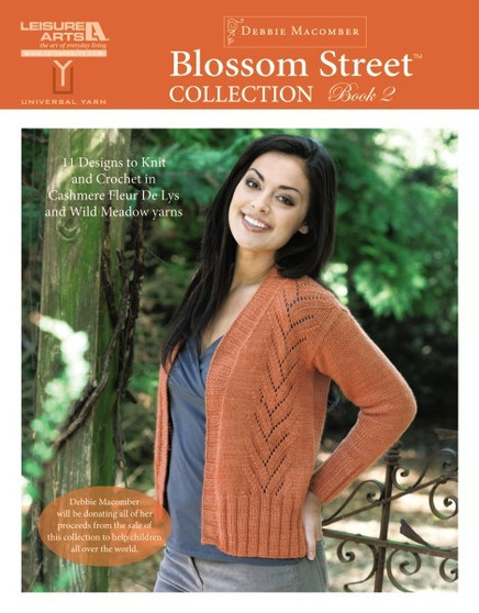 Leisure Arts Blossom Street Collection 2 Knit Book