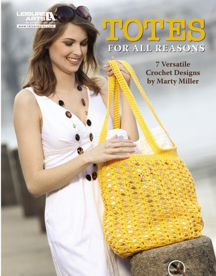 Leisure Arts Totes for All Reasons Crochet Book