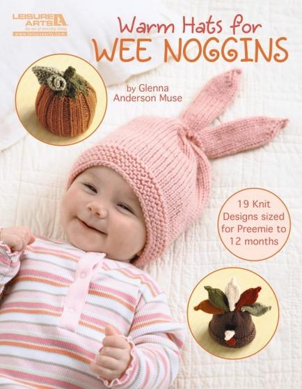 Leisure Arts Warm Hats For Wee Noggins Book