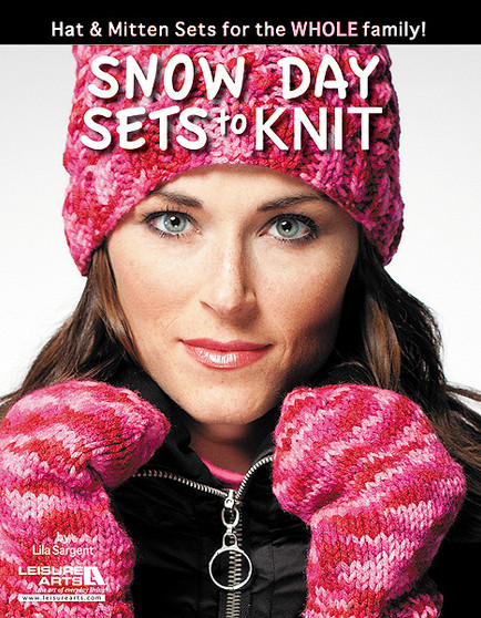 Leisure Arts Snow Day Sets To Knit Book