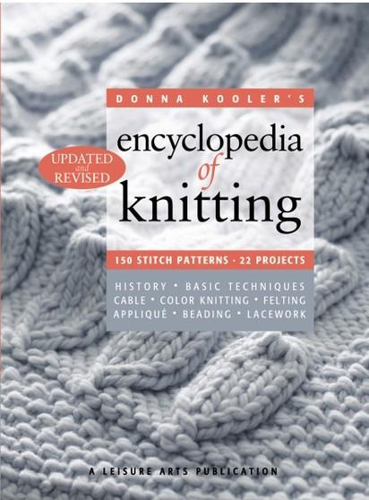 Leisure Arts Encylopedia Of Knitting Revised Book