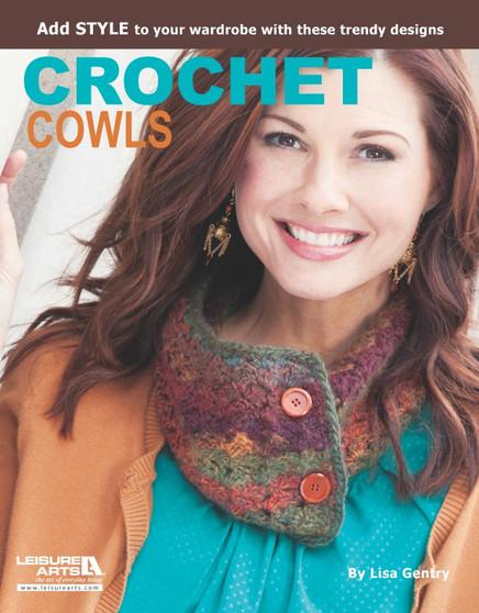 Leisure Arts Crochet Cowls Book