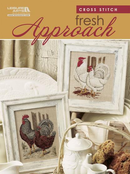 Leisure Arts Cross Stitch Fresh Approach Book