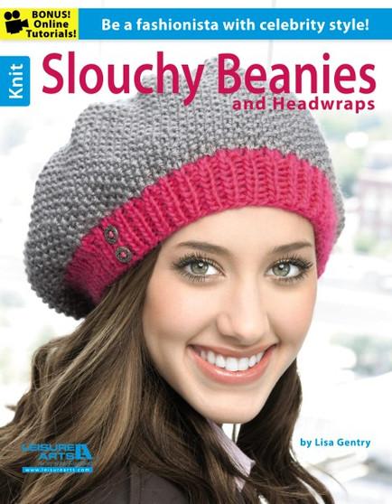 Leisure Arts Knit Slouching Beanies & Headwraps