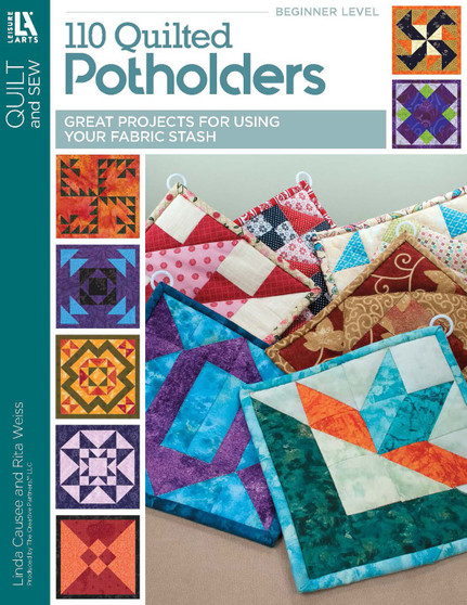 Leisure Arts 110 Quilted Potholders Book